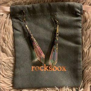 Jewelry - Crystal dangling earrings